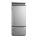 Fulgor Milano F7PBM36S1R 36in Bottom Freezer Refrigerator, Stainless Steel
