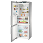 Liebherr CBS1661 30in Bottom Freezer Refrigerator, Stainless Steel