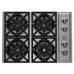 Gas Cooktop RBCT304BSSV2 Sealed Burner Built-In 30in -BlueStar