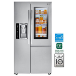 Side by Side Refrigerator LSXC22396S 36in -LG