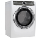 Electric Dryer EFMC627UIW Energy Star Predictive Dry 27in -Electrolux