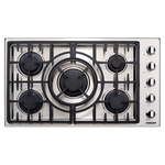 Gas Cooktop MCT365GSL Sealed Burner Built-In 36in -Capital