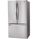 French Door Refrigerator LFCS28768S 36in Non Dispensing -LG