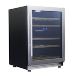 Wine Refrigerator WCF43S3SD 24in  Integrated - Avanti
