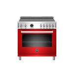 Induction Range PROF365INSROT Inductiontop 36in -Bertazzoni