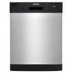 Dishwasher DDW2404EBSS Front Controls 24in -Danby Standard