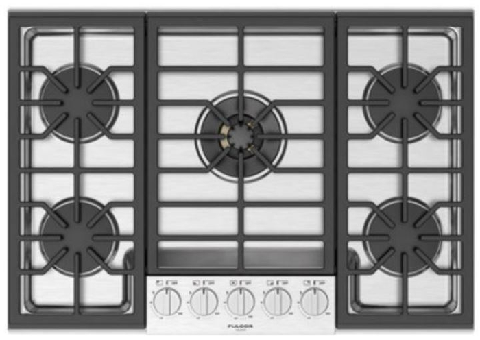 Gas Cooktop F6PGK305S1 5 Sealed Burners 30in -Fulgor Milano