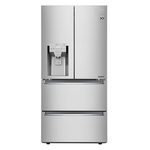French Door Refrigerator LRMXC1813S Energy Star CEE Tier III Certified Counter Depth 33in -LG