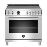 Induction Range PROF365INSXT Inductiontop 36in -Bertazzoni