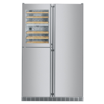 Side by Side Refrigerator SBS246 48in -Liebherr- check stock