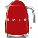 Smeg KLF03RDUS Retro 50's Style Fixed Temp Kettle, Red
