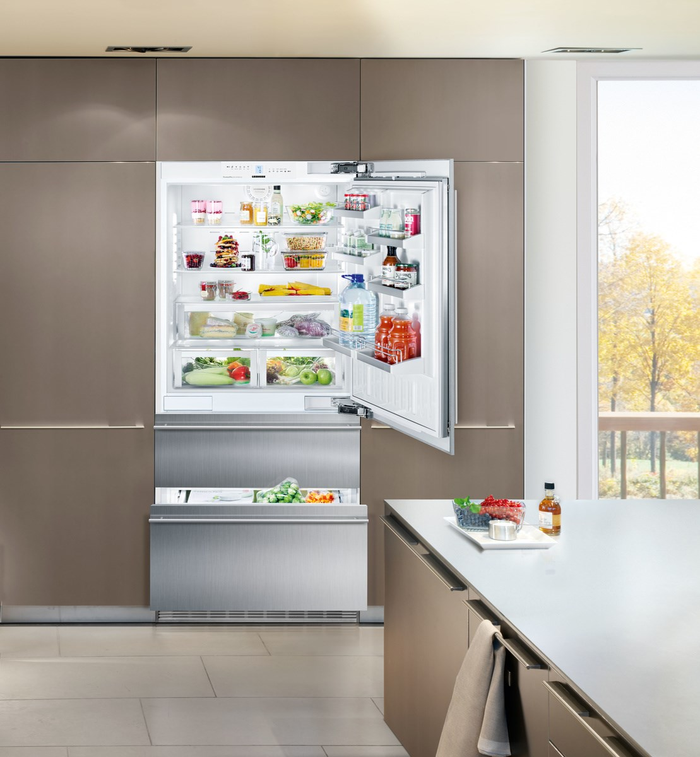 Bottom Freezer Refrigerator HC2060 36in Panel Ready WQL- Liebherr