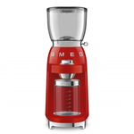 Smeg CGF01RDUS Retro 50's Style Coffee Grinder, Red.