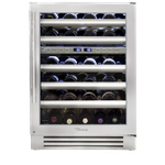 Wine Refrigerator TWC24DZRSGB 24in -True Residential