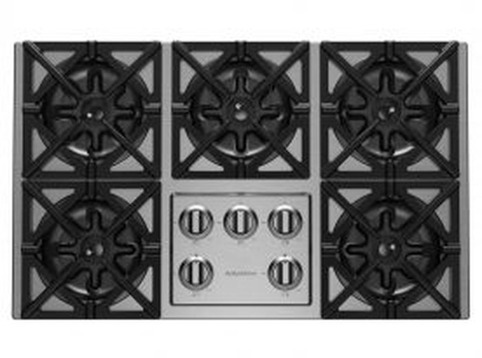 Gas Cooktop RBCT365BSSV2 Sealed Burner Built-In 36in -BlueStar