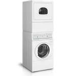 Speed Queen ATGE9ASP093CW01 27in Stacked Washer Dryer