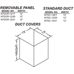 "Vent-A-Hood W7DCR12/29SS Removable Panel 29"" TALL DUCT COVER, FOR PDH7 WITH 8' CEILING"