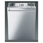 Built-In Dishwasher ST8646XU Top Controls 24in -Smeg