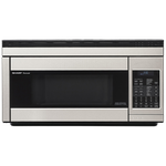 Sharp R1874TY 30in Over the Range Microwave Stainless Steel