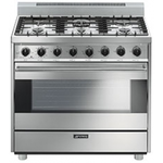 Gas Range C36GGXU Sealed Burner 36in -Smeg
