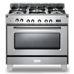 Dual Fuel Range VCLFSGE365SS Sealed Burner 36in -Verona -Discontinued