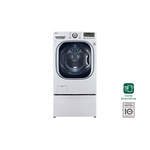 LG WM3997HWA 27in Ventless 2-in-1 Washer Dryer Combo White