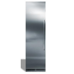 "Perlick CRSS24PDR6L 24"" Stainless Steel Solid Door Panel for 6"" Toe Kick, Right Hinge w/lock and w/Perlick Two Tone Handle"