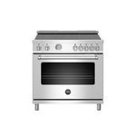 Induction Range MAST365INMXE 36in -Bertazzoni