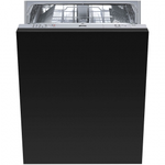 Dishwasher STU8249 Top Controls 24in -Smeg