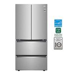 French Door Refrigerator LRMNC1813S Energy Star CEE Tier 3 Certified Counter Depth 33in -LG