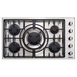 Gas Cooktop MCT365GSN Sealed Burner Built-In 36in -Capital