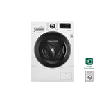 LG WM3488HW 24in Ventless 2-in-1 Washer Dryer Combo White