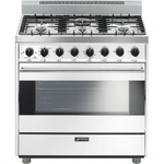 Gas Range C36GGBU Sealed Burner 36in -Smeg