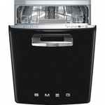 Dishwasher STFABUBL1 Energy Star  Retro Style 24in -Smeg