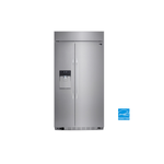 LG LSSB2692ST 42in Side by Side Refrigerator, Stainless Steel