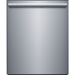 Dishwasher W652S Tall Tub Top Controls with Contemporary Design,One  Touch Operation Third Rack, 46 dba 24in -Robam