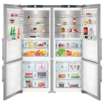 Side by Side Refrigerator SBS32S2 60in -Liebherr