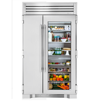Side by Side Refrigerator TR48SBSSGB 48in  Built-In Integrated - True Residential
