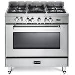 Dual Fuel Range VEFSGE365NSS Sealed Burner 36in -Verona -Discontinued