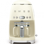 Smeg DCF01CRUS Retro 50's Style Drip Filter Coffee Machine, Cream replaced by DCF02CRUS