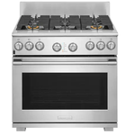 Electrolux Icon E36DF76TPS 36in Dual Fuel Range Stainless Steel